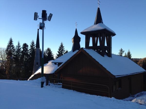 Hora Zvir v zime